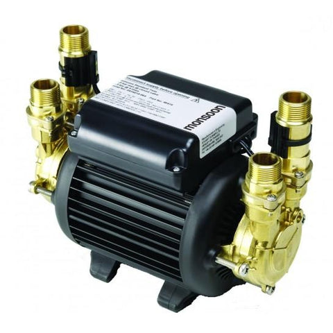 Monsoon Standard Twin 2.0 Bar Shower Pumps