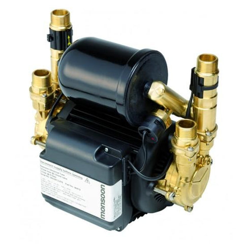 Monsoon Universal Twin 2.0 Bar Shower Pumps