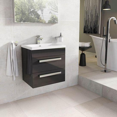 Nikita 600Mm Wall Mounted Vanity Unit Hung