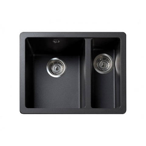 Rangemaster Paragon Granite 1.5 Sink And Waste Undermounted Sinks