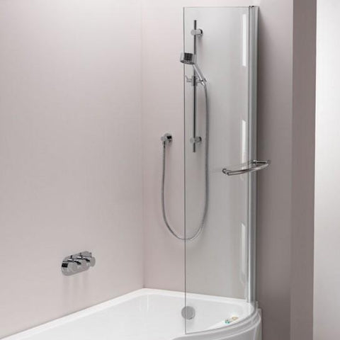 Arco Left-Hand/right-Hand Shower Bath Screen 1500Mm X 800Mm Hinged Screens