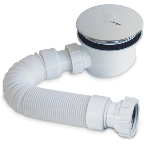 90Mm Fastflow Shower Waste And Flexipipe Connector Wastes
