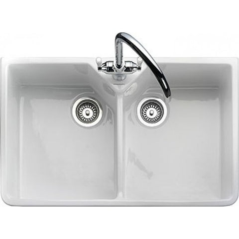 Rangemaster Double Bowl Belfast Ceramic 2.0 Sink Sinks
