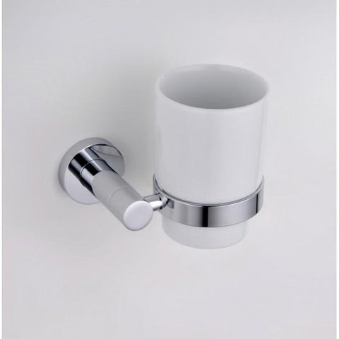 Round Tumbler And Holder
