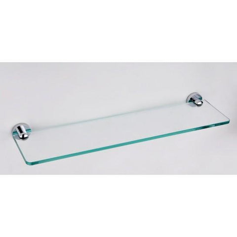 Round 500Mm Glass Shelf