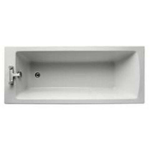 Tempo Arc 170Cm X 70Cm Idealform Plus+ Bath No Tap Holes Standard Baths