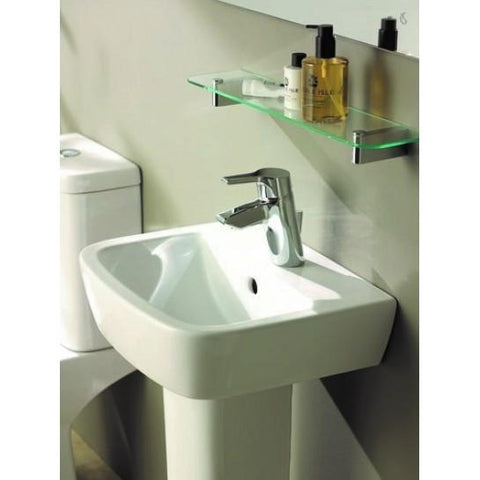 Tempo 40Cm Handrinse Basin And Semi-Pedestal