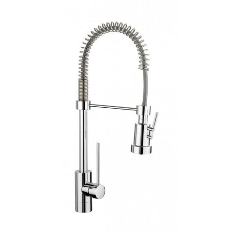 Rangemaster Pro Spray Professional Chrome Single Lever Mixertap Waste Disposers & Hot Water Taps