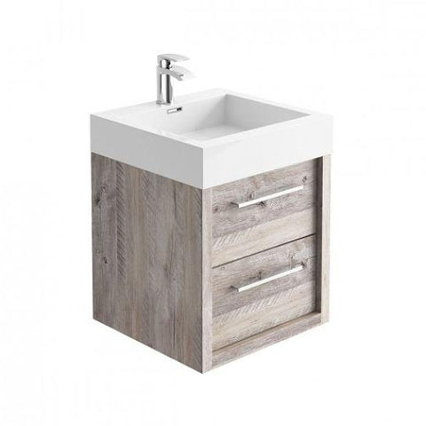 Winona Wall Mounted Vanity Unit Hung