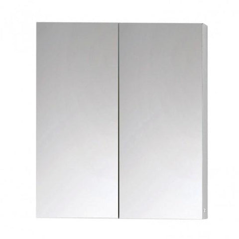 Michigan Mirrored Double Door Aluminium Wall Cabinet