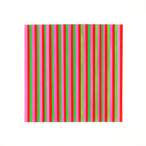 LINES STUDY II <span>acrylic 12in x 12in</span>