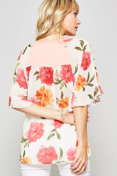 Jenny Floral Top