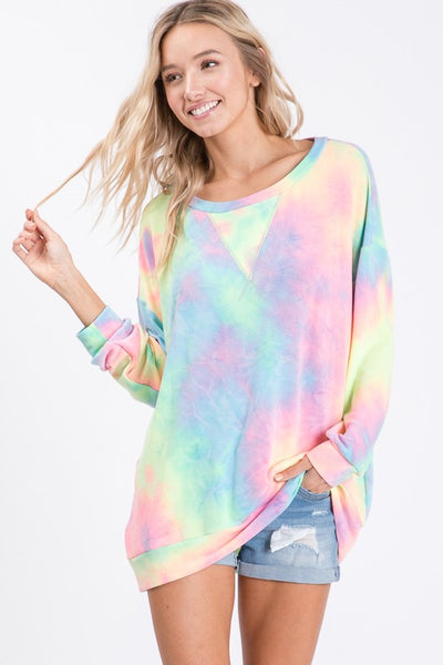 Colorful Tie Dye Top