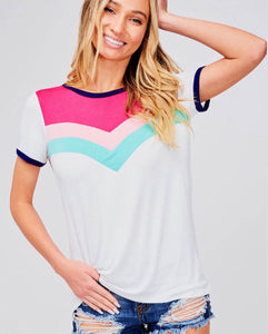 Chevron Colorful Tee