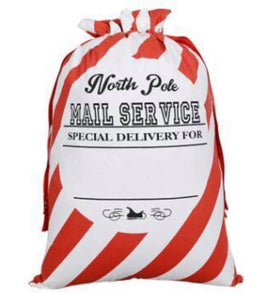 North Pole Christmas Sack