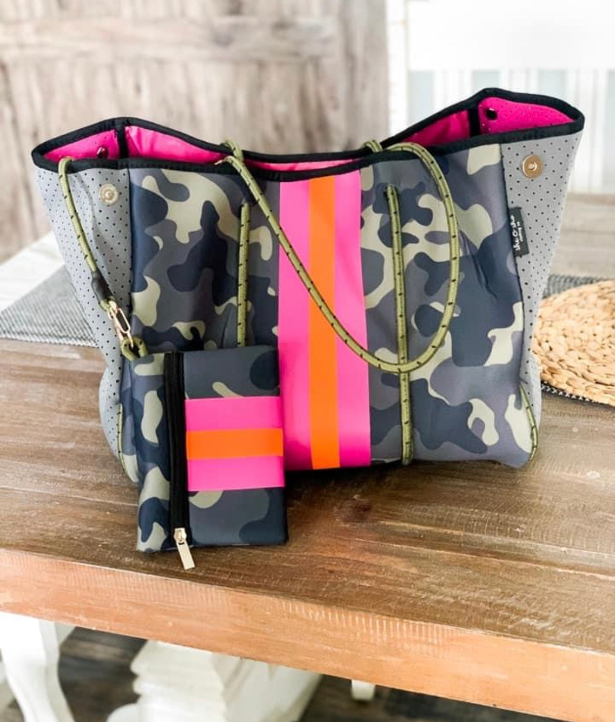 Camo Neoprene Bag Set