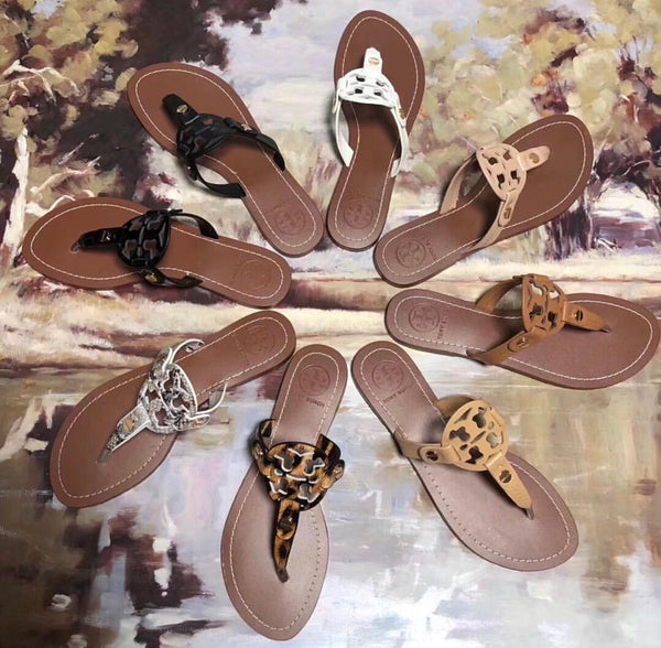 Tory Burch Inspired Sandals