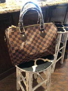 Checker Speedy  Handbag
