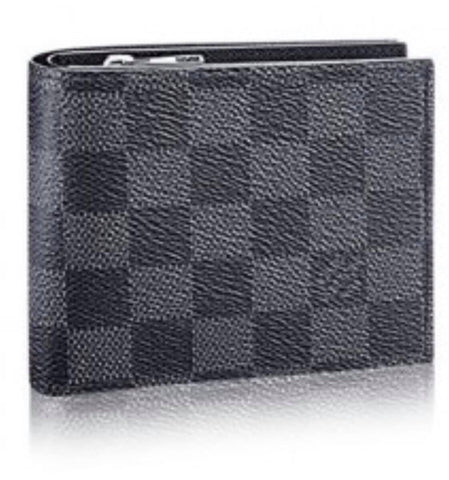 Grey Checker Wallet