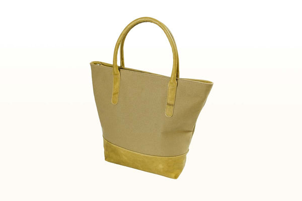 Leather base Tredurn large tote