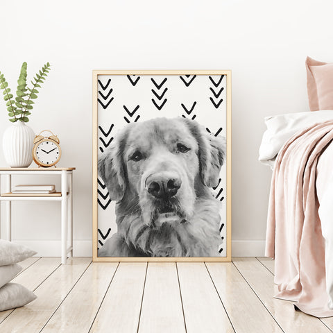 B+W Custom Pet Portrait