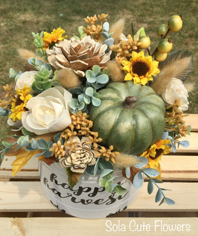 Happy Harvest Fall Tin - Small