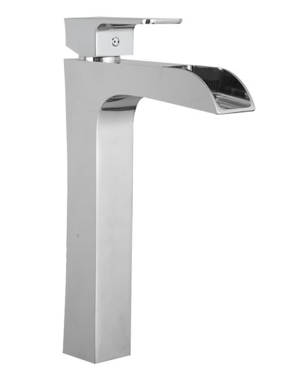 Faale - Single Handle Waterfall Bathroom Vessel Sink Faucet