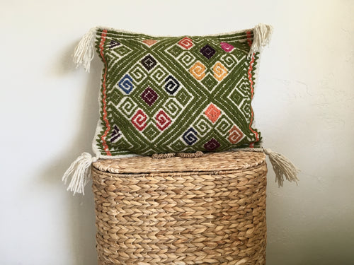 The Verde Pillow Cover