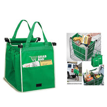 Hook-In-Cart Grocery Shopping Bag