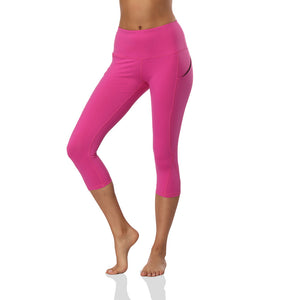 Ultra-soft Skinny Yoga Pants With Pocket