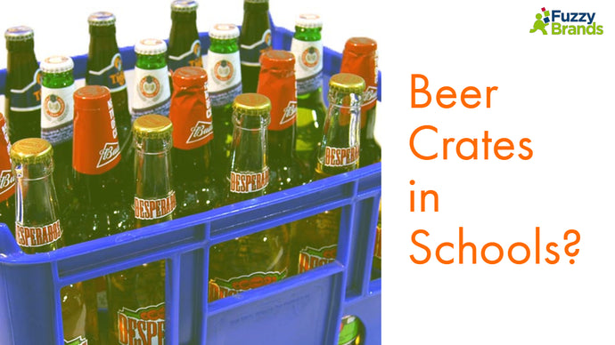 Beer Crates in Schools?