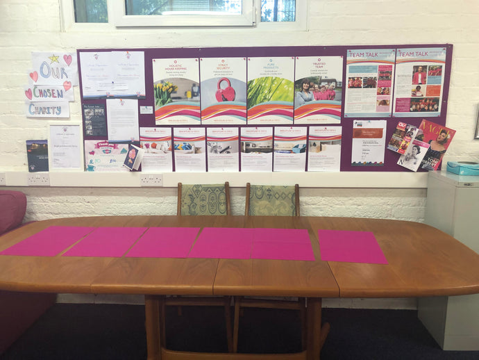Top 10 reasons why Fuzzy Brands Notice Boards are great for student houses!