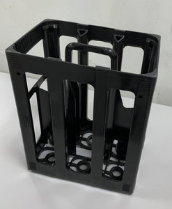 Plastic Wine Bottle Crate - Holds 6 Bottles