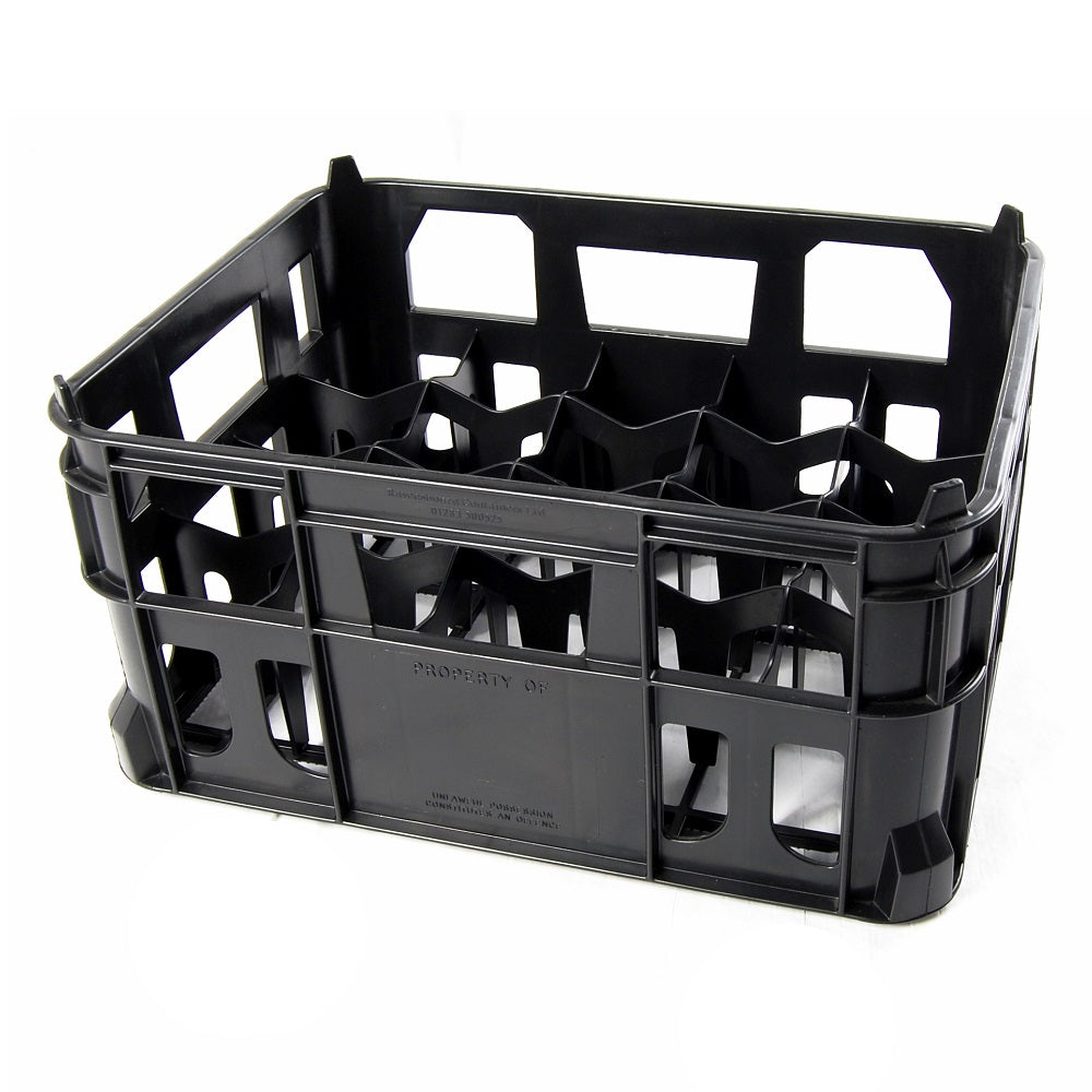 Black Milk/Beer bottle crate Holds 20
