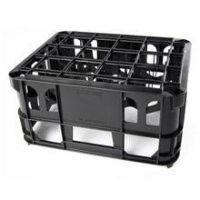 Black Beer/Milk bottle crate upside down, Holds 20