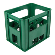 Green Wine/Milk Bottle Crate fits 12 bottles