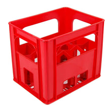 Red Wine/Milk Bottle Crate fits 12 bottles