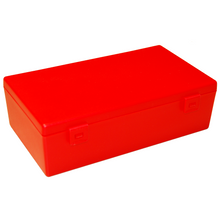 Fuzzy Brands Storage Large Hinged Plastic Box with clip fasteners, 230x135x70mm