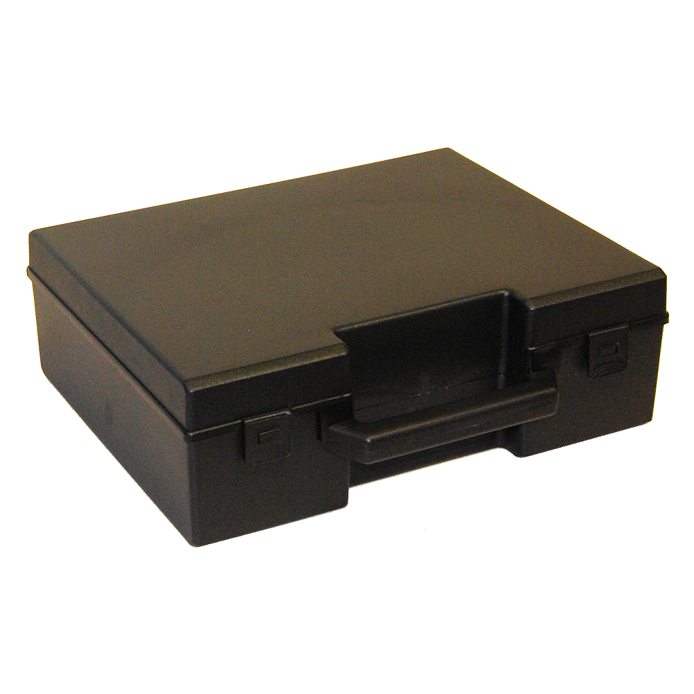Standard Deep Plastic Carry Case, 272x241x90mm