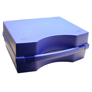 Plastic carry case, 295x235x120mm