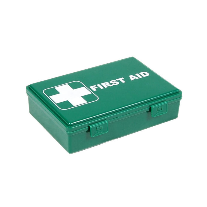 Fuzzy Brands First Aid Box Small, hinged plastic box with clip fasteners, 213x147x55mm