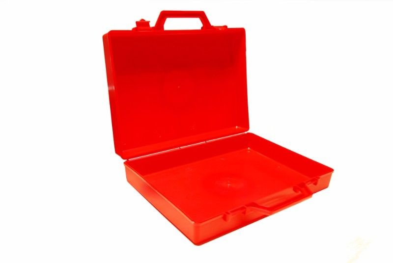 Standard Medium Plastic Carry Case, 378x245x34mm
