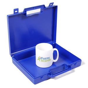 Fuzzy Brands Standard Small Plastic Carry Case, 270x233x50mm