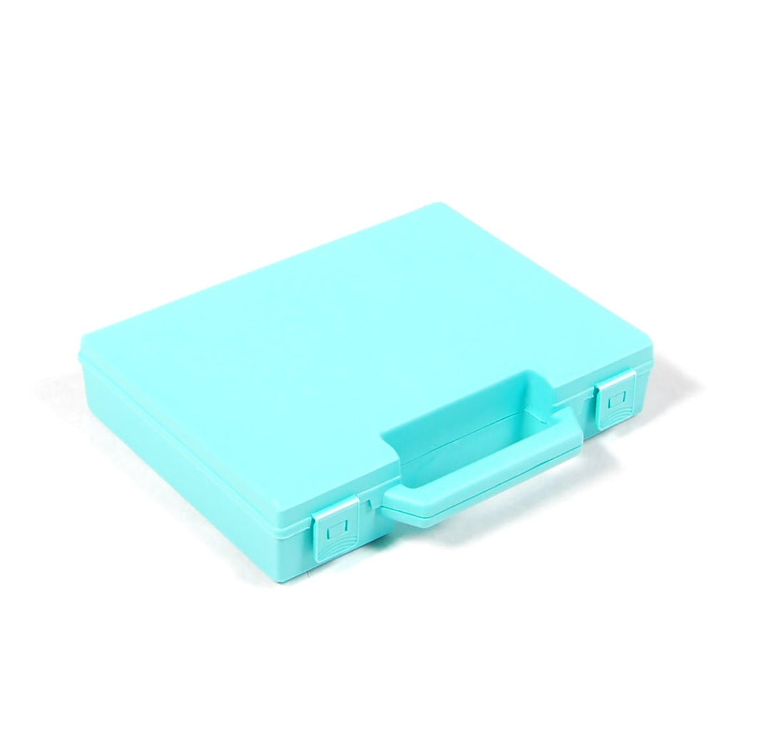 Standard Small Plastic Carry Case, 227x192x48mm