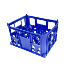 Blue Beer Milk Bottle Crate Holds 20