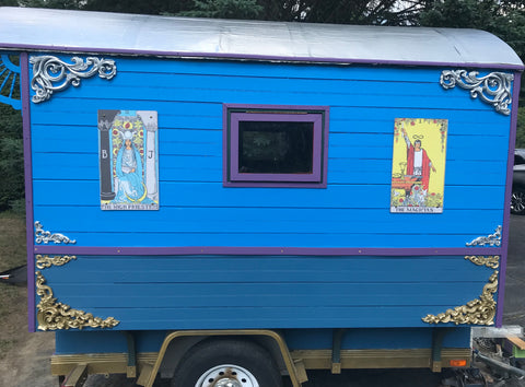 The Tarot Chariot Gypsy Wagon