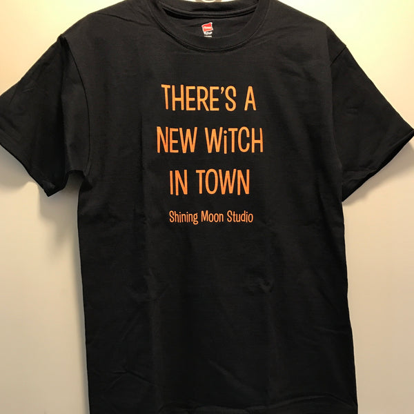 Men's Medium - There's A New Witch in Town t-shirt