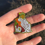 The Empress Enamel Pin