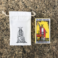Tarot Bag for Standard size decks - The High Priestess