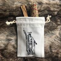 Tarot Bag for crystals/small decks- The Magician